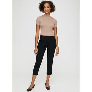 Aritzia Babaton Cohen Terado pants XXS $145 Black